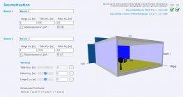 Nové verze nástrojů Schallchutzrechner a VWall